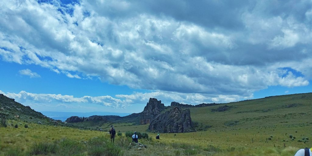A photo of the scenery at dragon teeth hike
