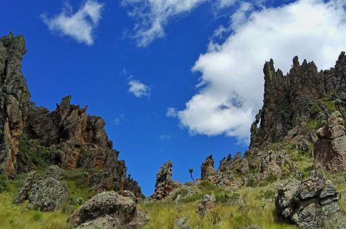 A photo of Dragon Teeth Aberdares