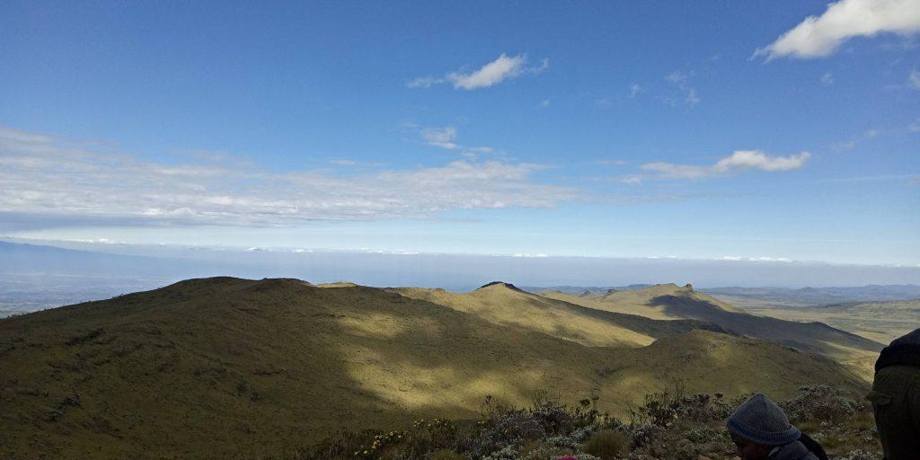 A photo of scenery in Mt. Satima
