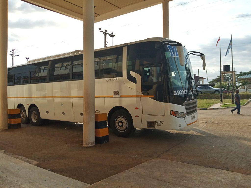 A photo of aModern Coast tour bus to Tanzania by weonboard.com