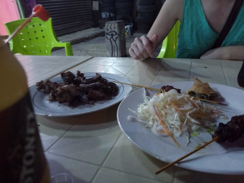A photo of  two plates of food in Tanzania by weonboard.com