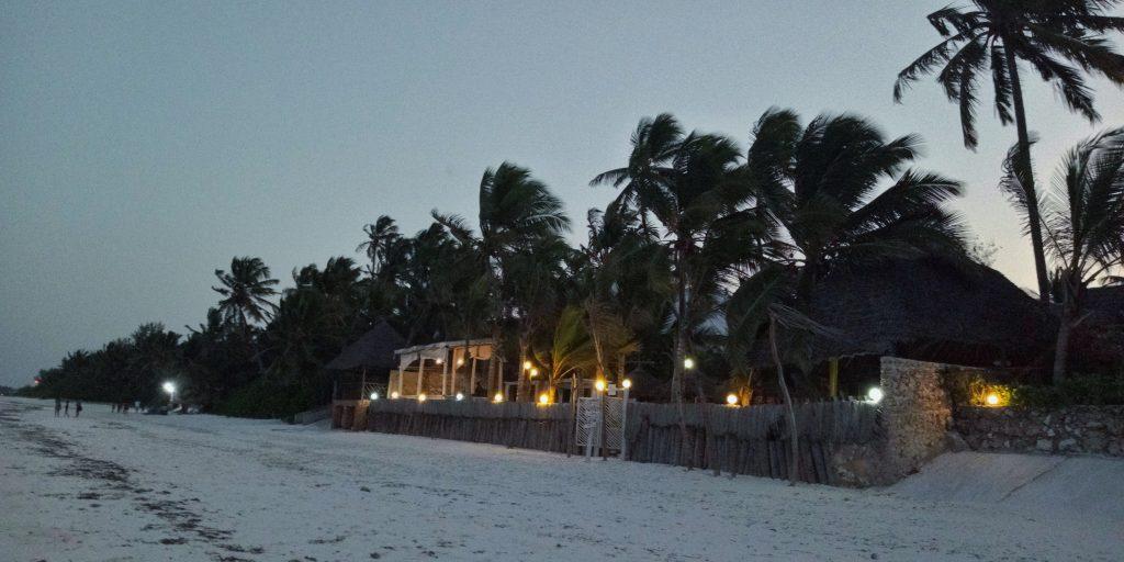 Resort overlooking the beach in zanzibar by weonboard.com